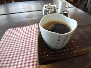 オリジナルブレンドの自家焙煎コーヒー