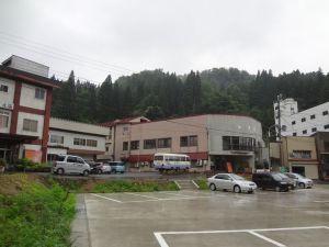 旅館が3軒だけの小さな温泉街