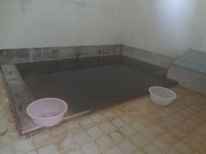 至ってシンプルな浴室