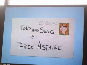 語りと歌 フレッド・アステア