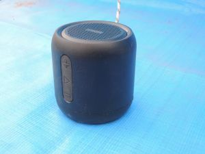 Bluetoothスピーカー小さい!