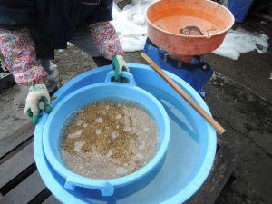 種籾の塩水選