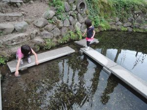 六郷の湧水群