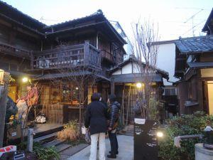 古民家立ち並ぶ上野桜木あたり