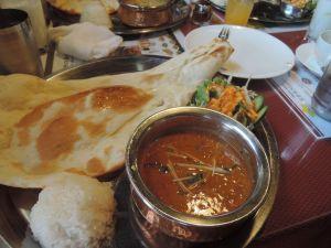 インドカレーを食う