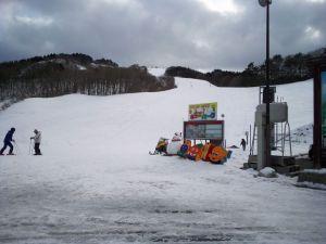 スキー場やってた!