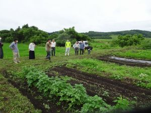 有機野菜栽培の勉強会
